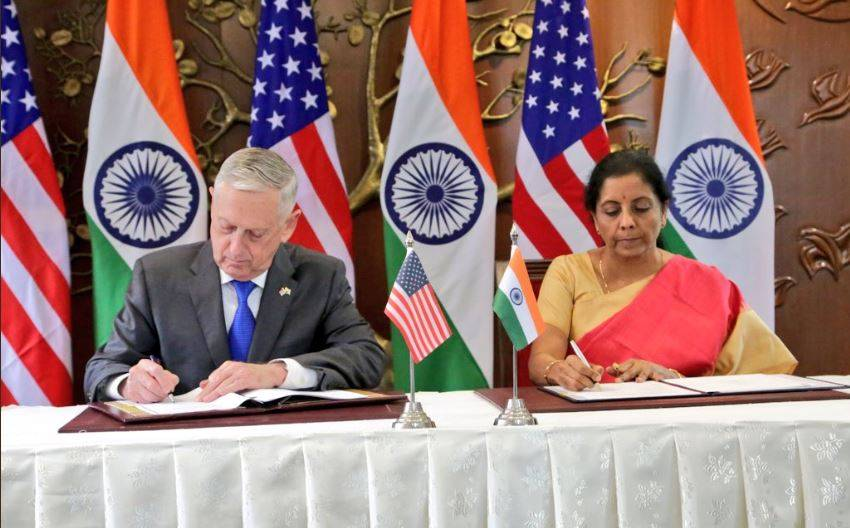 India, COMCASA, China, America, 2+2 talk, 2+2 dialogue, World News