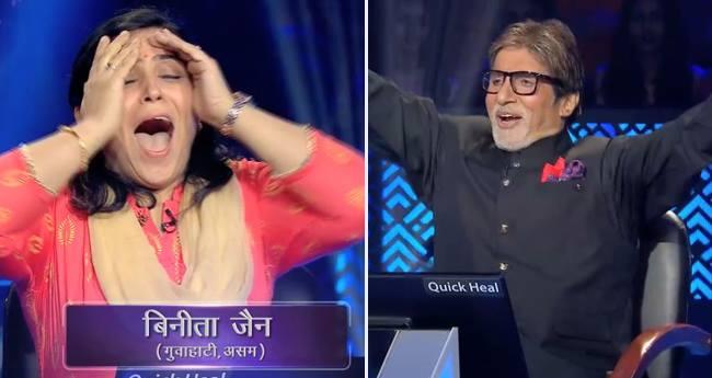 one crore winner, kbc 10 first crorepati, kbc 10, Kaun Banega Crorepati, Binita Jain, amitabh bachchan, tv News