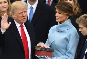 swearing in, photographer, Donald Trump, World News