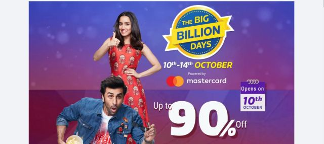 Flipkart Sale,Flipkart Big Billion Day Sale,Flipkart Offers,Nokia Sale,Moto Sale,Oppo Sale,Vivo Sale,Smartphones Sale on Flipkart