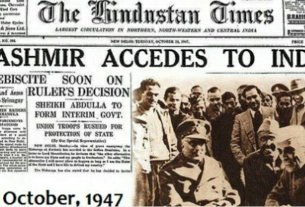 on october 26 kashmir merged with india