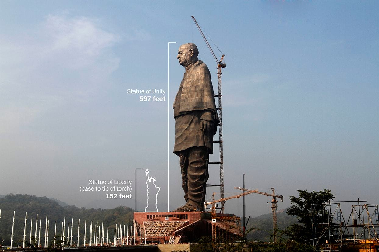 statue of unity, PM Narendra Modi, how to reach statue of unity, sardar patel,statue of unity