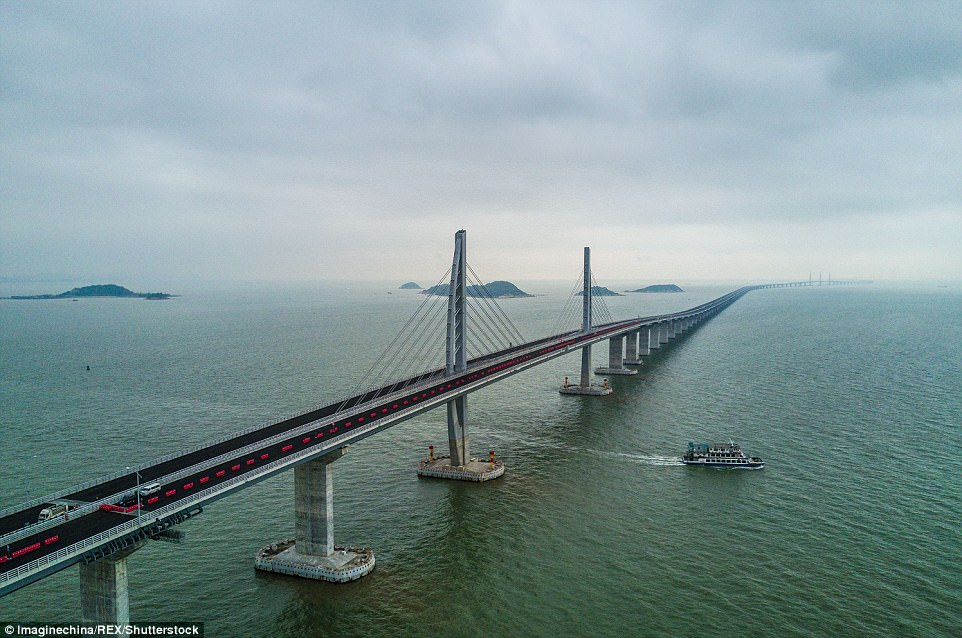 world's longest bridge, world's largest pool, hong kong-zhuhai-macau bridge, Business News