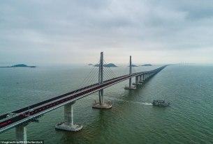 world's longest bridge, world's largest pool, hong kong-zhuhai-macau bridge, Business News
