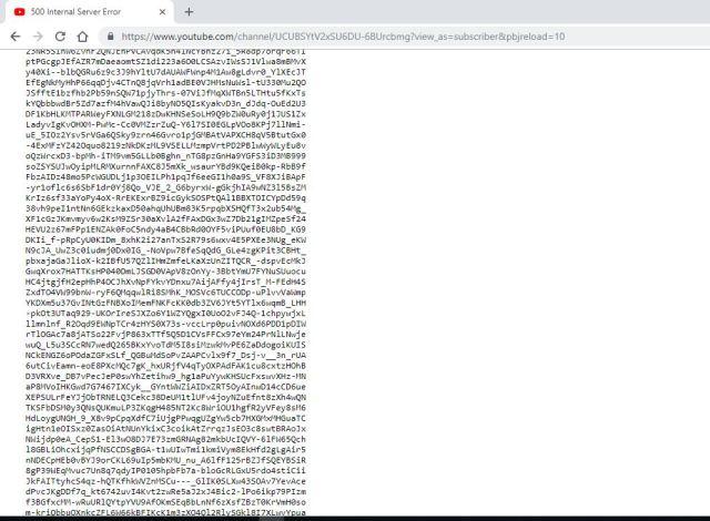 Worldwide Issue: YouTube servers blocked or crashed, Company said