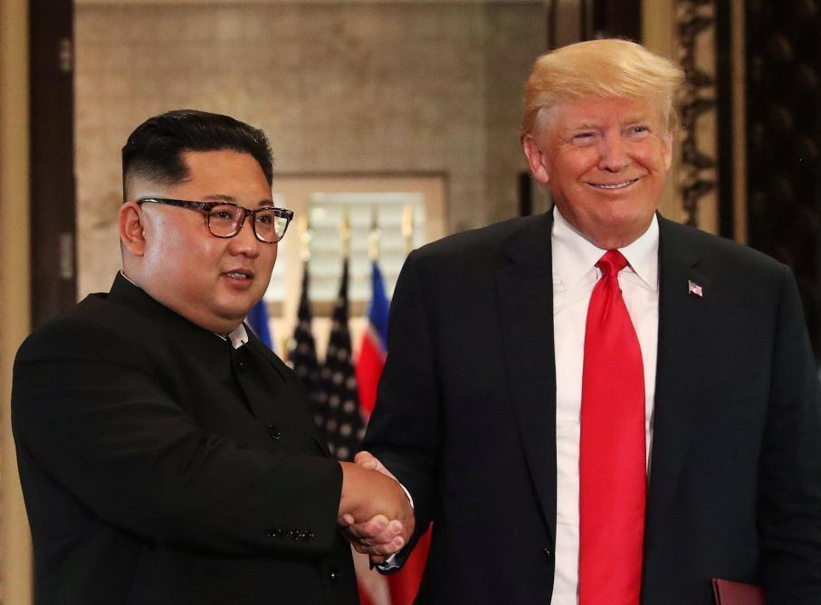 trump ,north korea korean crisis, kim jong, nuclear disarmament