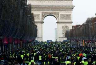 yellow vest protests, france protest, Donald Trump, Rest of Europe News