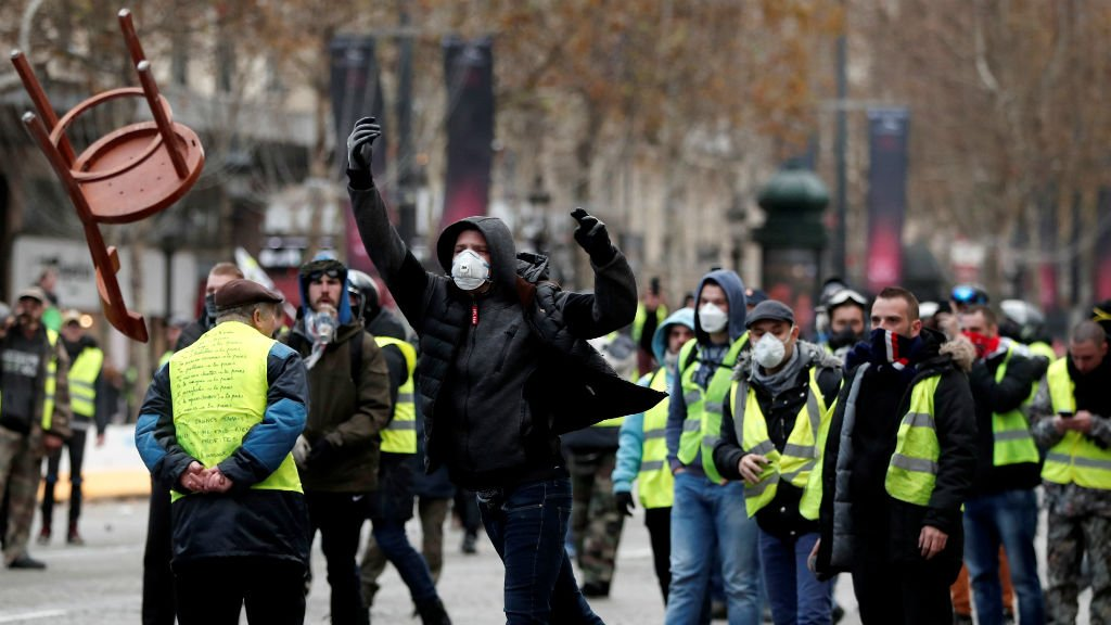 yellow vests, Protest in France, france, Rest of Europe News