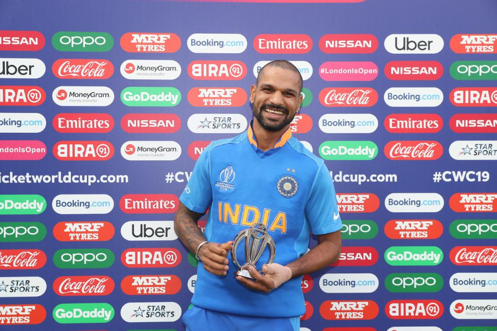 world cup 2019, Shikhar Dhawan, DHAWAN RULED OUT FOR WC,Shreyas Iyer, shikhar dhawan injured, Rishabh Pant