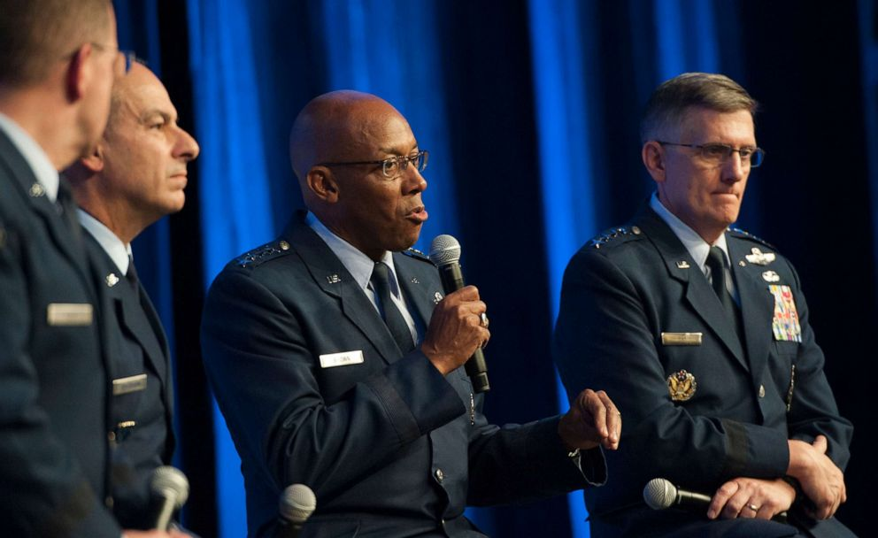 US Air Force news, US Air Force chief, us air force, general charles brown jr
