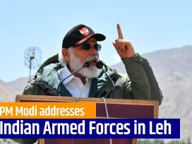 Prime Minister Narendra Modi's strong message on 'Expansionism' during surprise visit in Ladakh