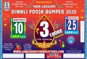 Punjab Diwali Bumper Lottery