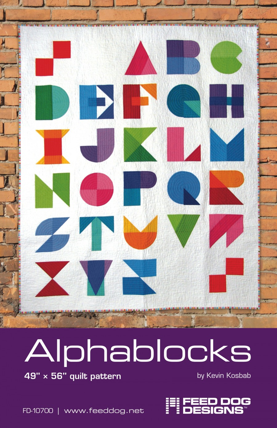 Alphablocks Quilt Feed Dog Designs