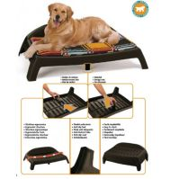 Buy Ferplast Sleepy 80 Plastic Ergonomic Shaped Dog Bed