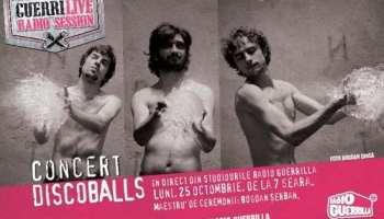Discoballs @ GuerriLive