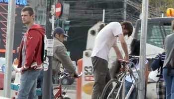 Cat de usor se fura o bicicleta in Bucuresti in vazul tuturor