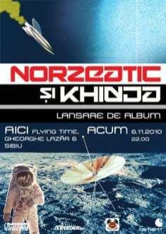 """Lansare album Norzeatic şi Khidja – """"Aici acum"""""""