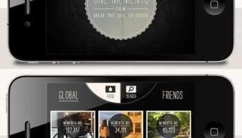 One Memento - o aplicatie de iPhone ce poate face doar o SINGURA poza