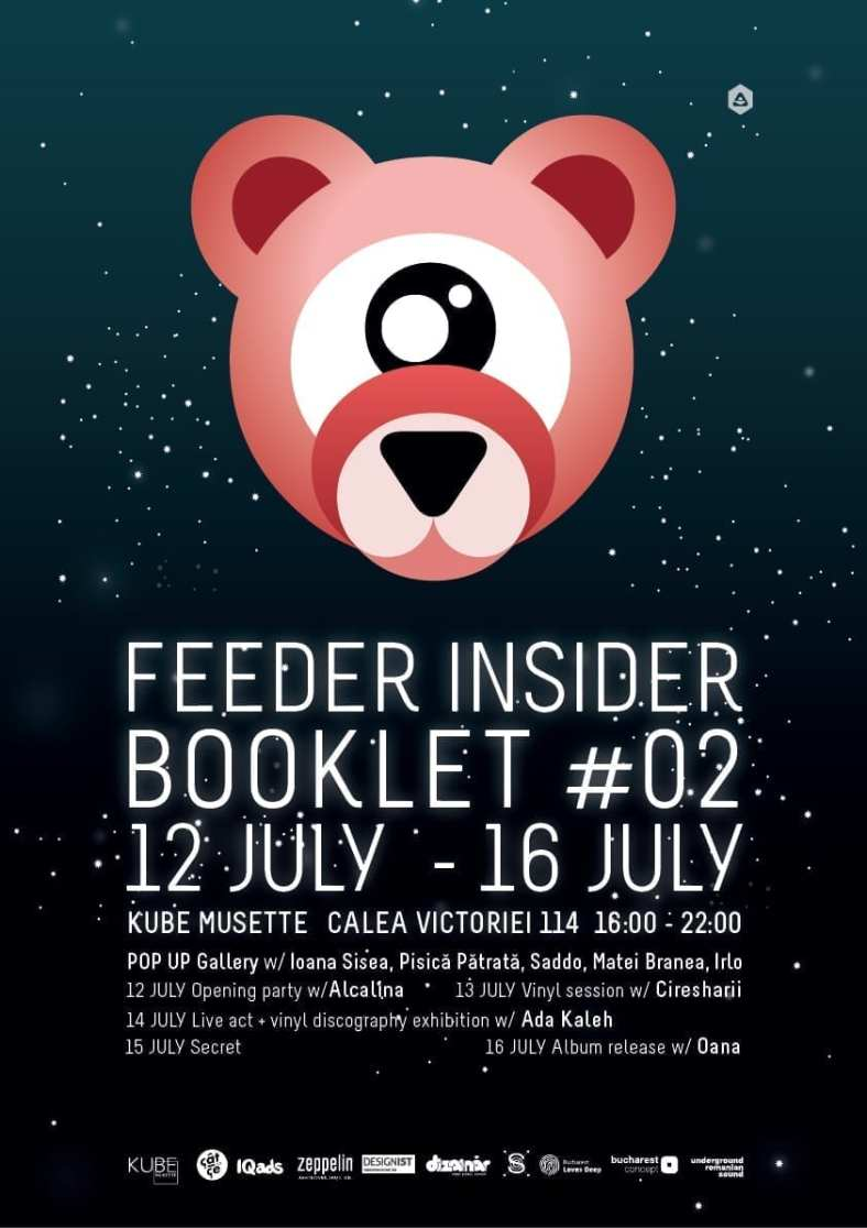 Feeder insider pop-up gallery @ Kube Musette