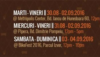 Burger Van @ Metropolis, Pipera, Bikefest 2016