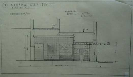 1938 Refacere fatada + aparat de intrare H. D. 3 sect trans