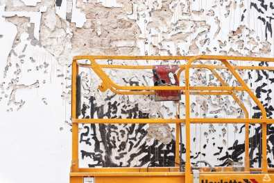 feeder insider interview with Vhils Bucharest romania street art