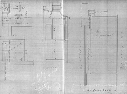1915 plan casa + teatru Capitol, bd Elsabeta nr 14