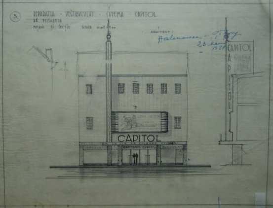 1938 Cinema Capitol Henrieta Delavrancea 06