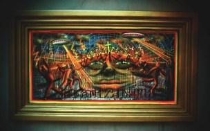 IRLO Golden frame