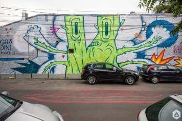 Pisica Pătrată Arthur Verona Street Art