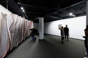 Noaptea Albă a Galeriilor 2017 Mobius Gallery DEVIATIONS / Line. Pink… Black Square – Claudia Brăileanu