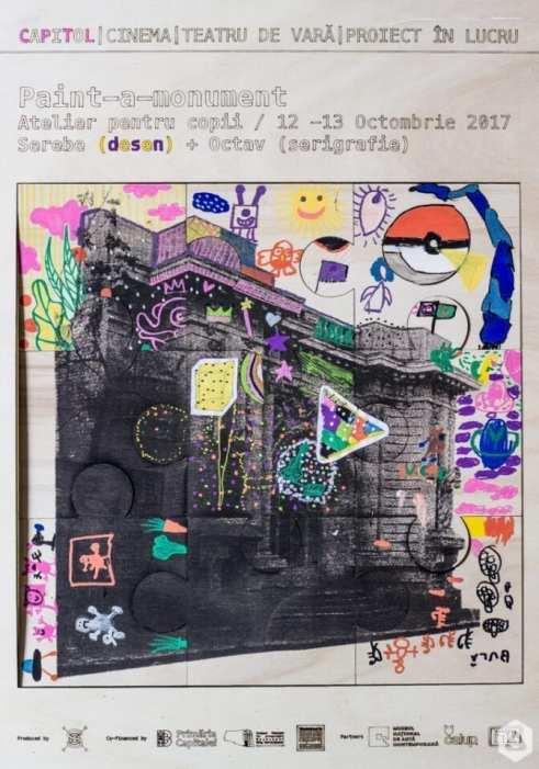 Paint-a-monument atelier Capitol Puzzle