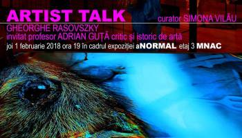 Artist talk Gheorghe Rasovszky