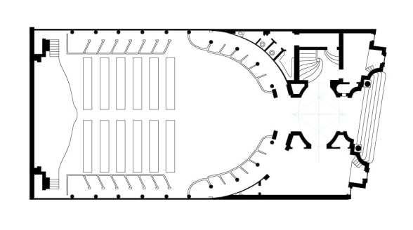 1916 Plan Teatrul de vară Capitol arhiect Nicolae Nenciulescu