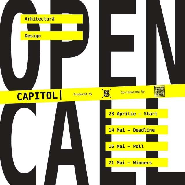 OPEN CALL ARCHITECTURE & DESIGN - Shape the future of CAPITOL