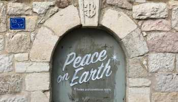 Banksy Peace on Earth (2017) photo Banksy.com