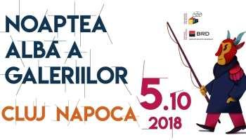 Noaptea Albă a Galeriilor Cluj Napoca 2018
