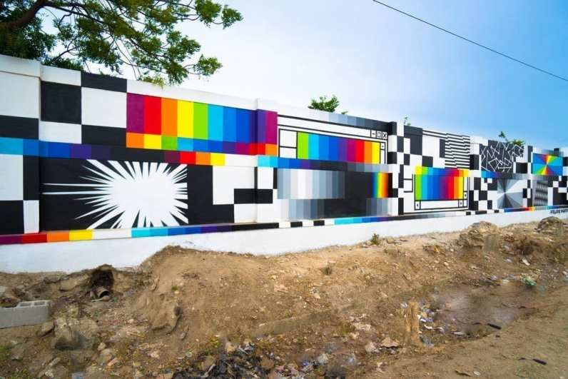 Felipe Pantone Artists for Peace and Justice