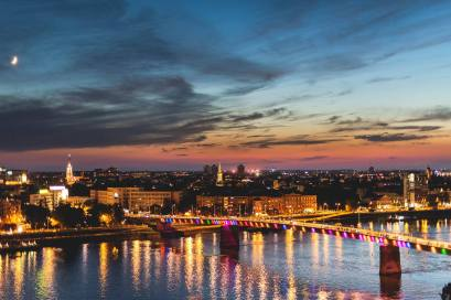 Novi Sad sunrise