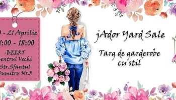 jAdor Yard Sale - Targ de garderobe cu stil