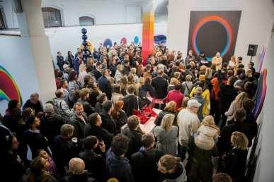 JAN KALÁB - Point of Space, Trafo Gallery, Prague (2018) - Opening