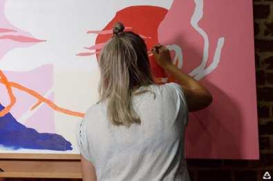 feeder sound LIVE with Oana dj set & Livi Po live painting