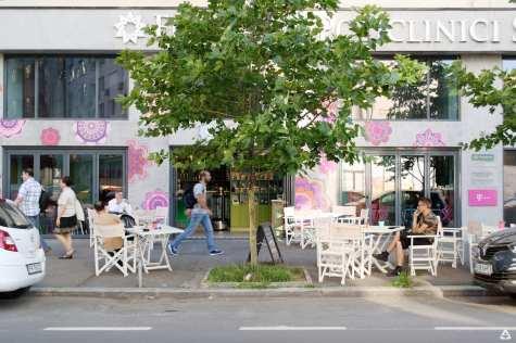 Irina Mocanu at Sheida Coffee and Stories