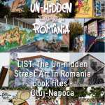 LIST: The Un-hidden Street Art in Romania book files - Cluj-Napoca