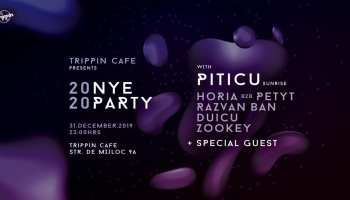 Trippin Cafe NYE 2020 with Piticu (Sunrise)