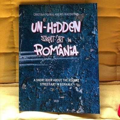 Un-hidden street art in Romania book at Misbits Record Shop