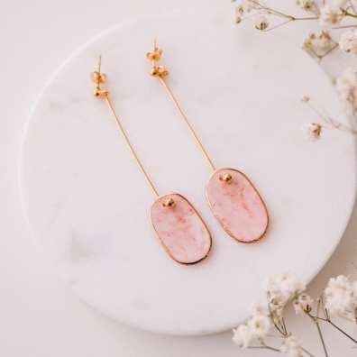 Porcelain earrings Mura