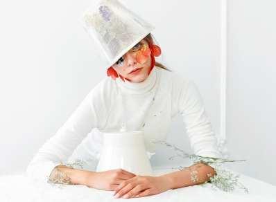 Kristina Dragomir - UPcycled Hats