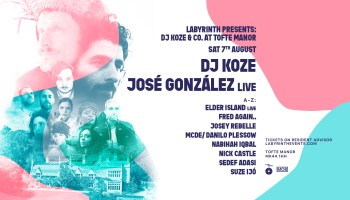 DJ Koze launches New Open Air Festival in the UK at New Venue Tofte Manor