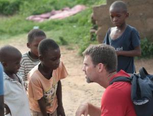 Reid in Ghana